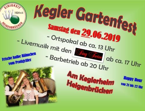 Gartenfest 2019 mit Ortspokal