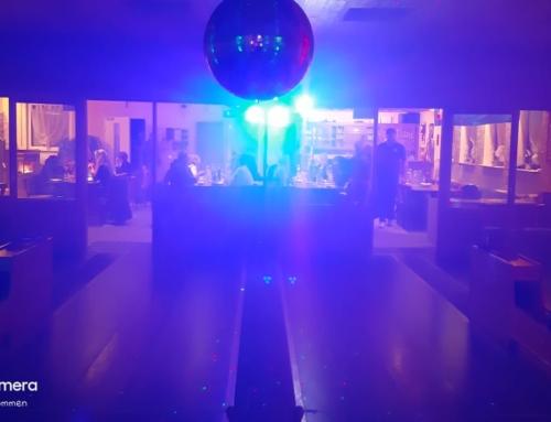 Die Kegelbahn zeigt sich bunt. Raiffeisen-Sponsoren-Disco-Pokal 2019